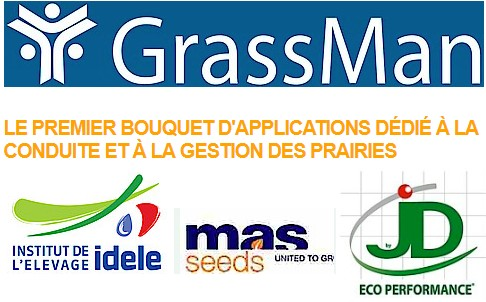 Grassman, le premier bouquet d'application dédié à la conduite et à la gestion des prairies